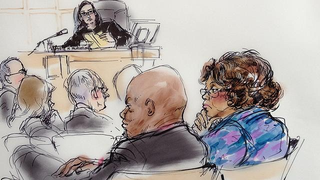 MJ's Mother Tears Up Hearing His Music in Court