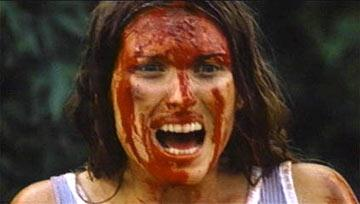 Marilyn Burns in Bryanston Films' The Texas Chainsaw Massacre