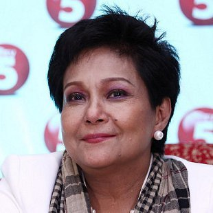 Nora Aunor during her come back press conference (Jerome Ascano, NPPA Images)