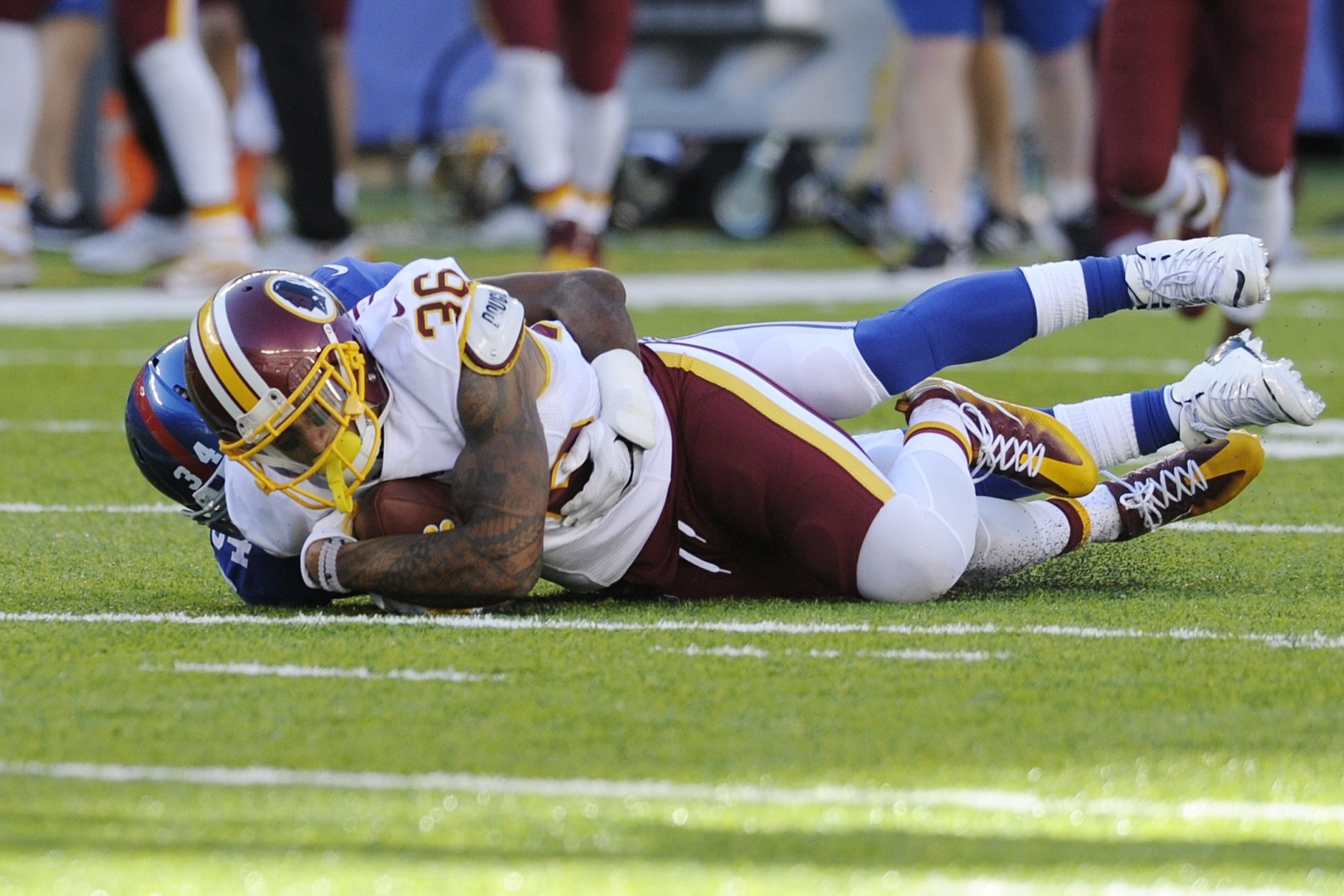 Coach: Redskins TE Jordan Reed evaluated for concussion