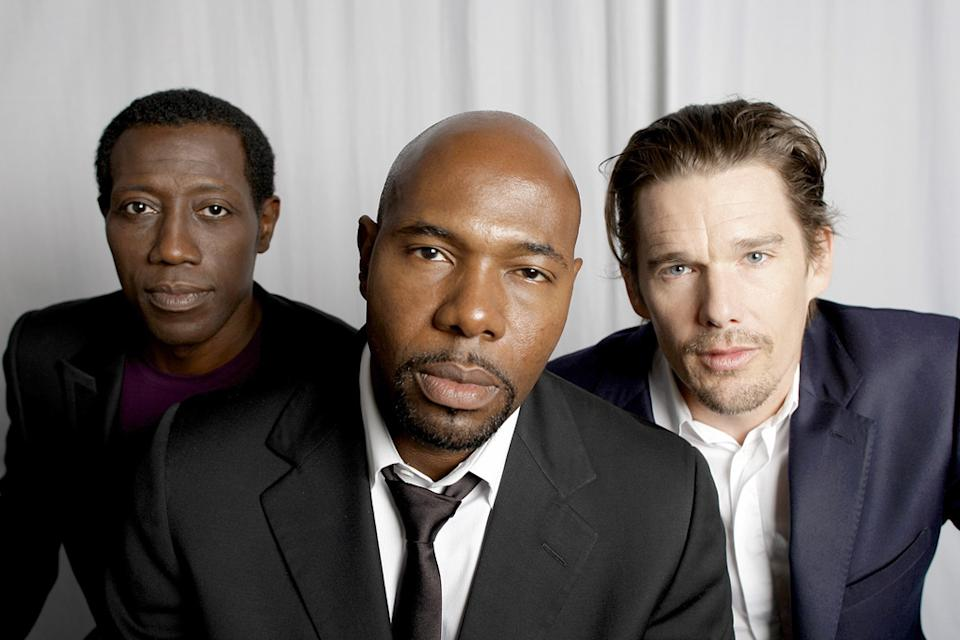 66th Annual Venice Film Festival Portrait Session 2009 Brooklyn's Finest Wesley Snipes Antonie Fuqua Ethan Hawke