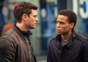 Almost Human EPs J.J. Abrams, J.H. Wyman and Stars Preview Fox's Futuristic New Cop Drama