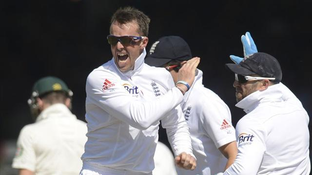 Ashes - Swann the star for England as 16 wickets fall