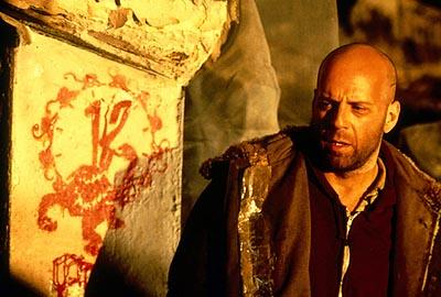 Bruce Willis as Cole in Universal's 12 Monkeys