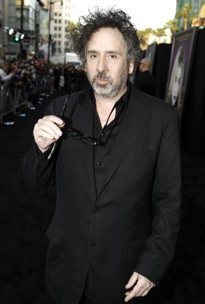 "FILE - In this May 7, 2012 file photo, director Tim Burton arrives at the premiere of  his film, ""Dark Shadows"" in Los Angeles. The film opens in theaters on May 11.  (AP Photo/Matt Sayles, file)"