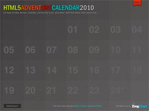 HTML5 Advent(ure) Calendar