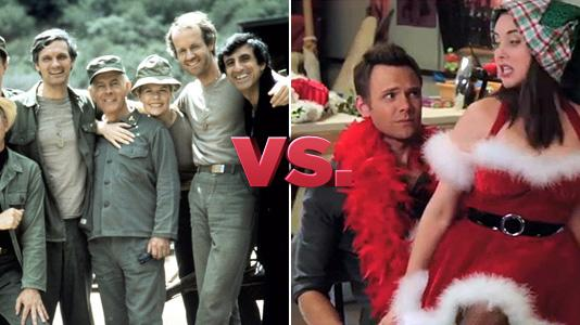 Mistletoe Madnes - M*A*S*H vs. Community