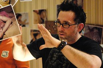 Director Darren Lynn Bousman on the set of Lionsgate Films' Saw IV