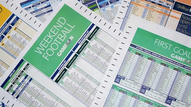 Football betting slips generic