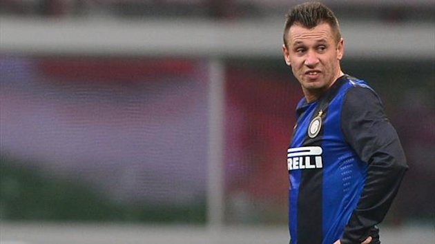 FOOTBALL 2012 Inter Milan - Cassano