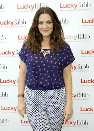 Drew Barrymore attends the first-ever Lucky Magazine two day FABB West at SLS Hotel on April 4, 2013 in Beverly Hills, Calif. -- Getty Premium
