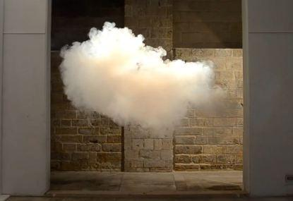 8. Indoor cloud. Cloud gazing is a fine way to pass time. The only problem was that, until recently, it could only be done outdoors. Luckily, Dutchman Berndnaut Smilde, has found a way to control the