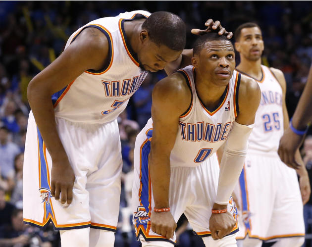 Thunder G Westbrook healthy for Memphis series