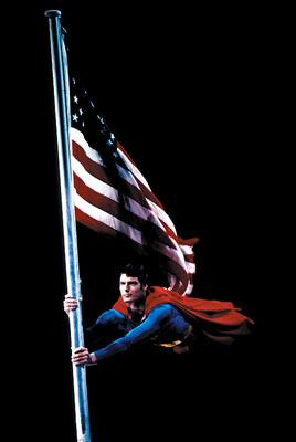 Christopher Reeve in Warner Brothers' Superman 2