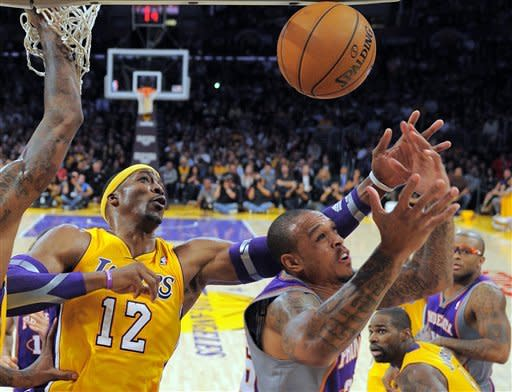 Up-tempo Lakers race to 114-102 win over Phoenix