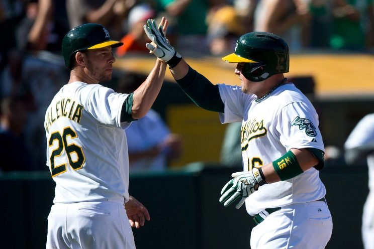 A's fine Butler, Valencia following clubhouse fight