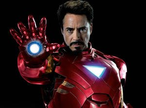Robert Downey Jr.  es Iron Man-Marvel Comics
