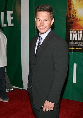 Mark Wahlberg at the New York premiere of Walt Disney Pictures' Invincible