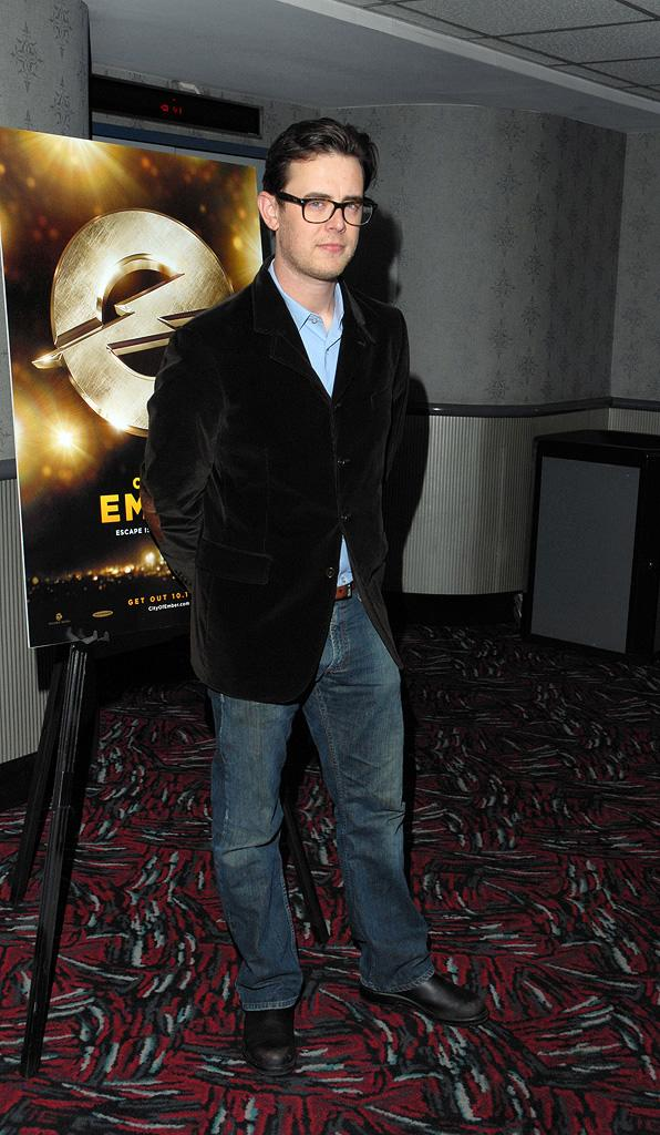 City of Ember NY Premiere 2008 Colin Hanks