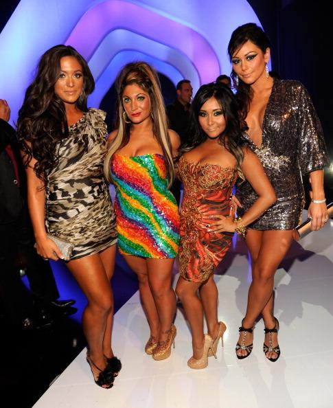 "Worst: Sammi, Deena, Snooki, and JWOWW of ""Jersey Shore"""