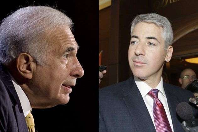 Ackman and Icahn