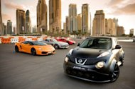 The Nissan Juke R can race with the world's fastest supercars