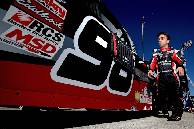 Rico Abreu is prepping for his first full season in NASCAR's Truck Series. (Getty Images)