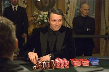 Mads Mikkelsen as Le Chiffre in MGM/Columbia Pictures' Casino Royale