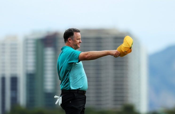 Marcus Fraser took the Day 1 lead at the men's Olympic golf tournament (Getty Images)