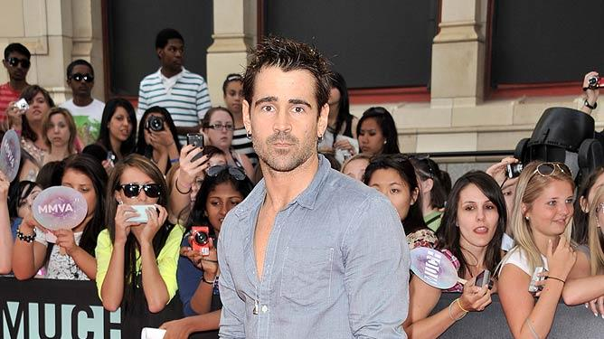 Colin Farrell Much Music Awards