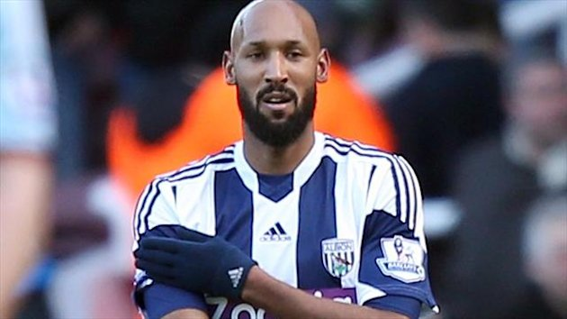 West Bromwich Albion's Nicholas Anelka has been charged by the FA.
