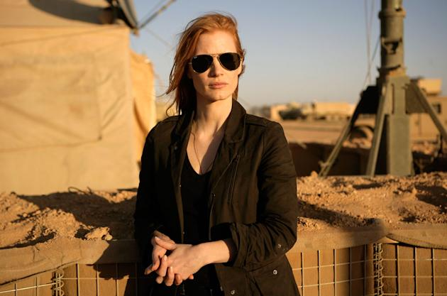 "Jessica Chastain, ""Zero Dark Thirty"""
