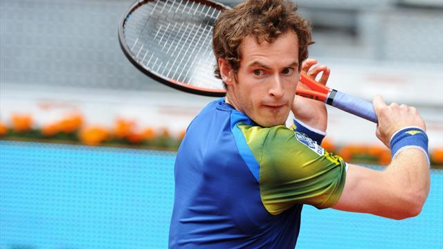 Madrid Masters - Murray v Berdych: LIVE