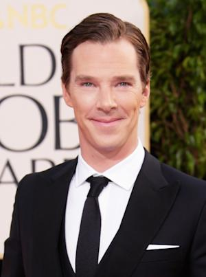 Benedict Cumberbatch arrives at the 70th Annual Golden Globe Awards held at The Beverly Hilton Hotel on January 13, 2013 -- Getty Images