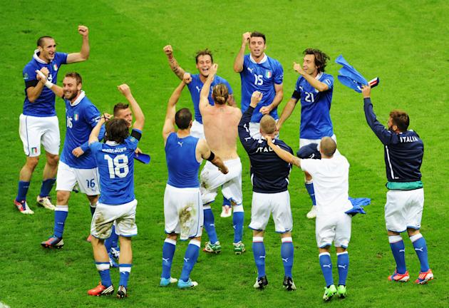 Germany v Italy - UEFA EURO 2012 Semi Final