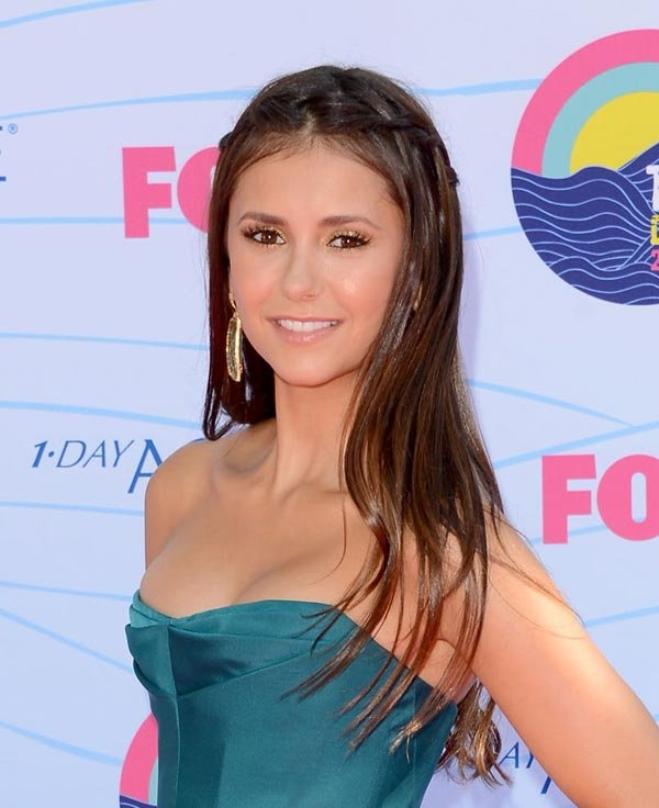 Nina Dobrev's 2012 Teen Choice Awards Hair: Get Her Pretty Braids