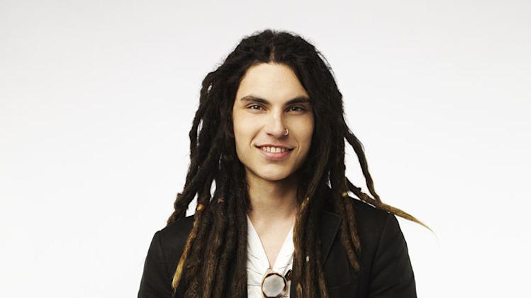 "Samuel Larsen competes in ""The Glee Project ."""