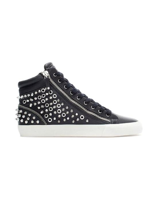 Brand: ZaraWhat: Studded sneakersPrice: Rs.5,390Where to buy: Zara outlets across the country