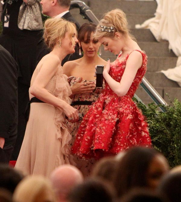 Emma Stone's Dress Malfunction — Her Dress Ripped During Met Gala