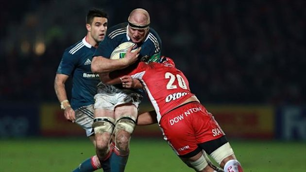 Munster's Paul O'Connell was the talk of Kingsholm.