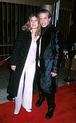 Elias Merhige with gal at the Hollywood premiere of Lions Gate's Shadow of the Vampire