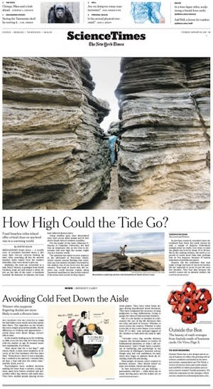 NY Times Redesigns Feature Sections in Print