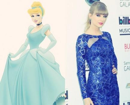 Cinderella and Taylor Swift