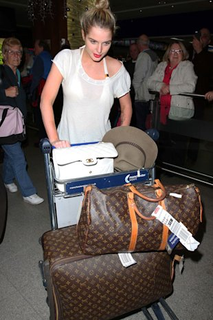 PHOTO: I'm A Celeb's Helen Flanagan Arrives Back In England In Bikini And Sheer Top Combo