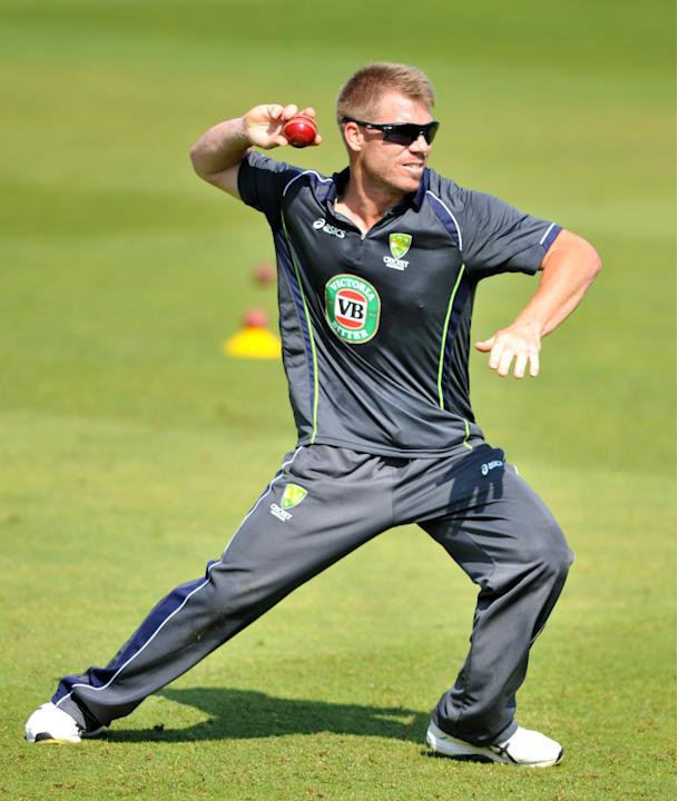 Cricket - David Warner Filer