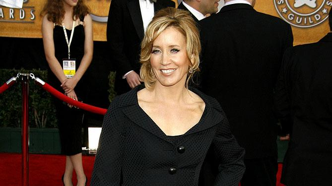 Felicity Huffman at the 13th Annual Screen Actors Guild Awards.