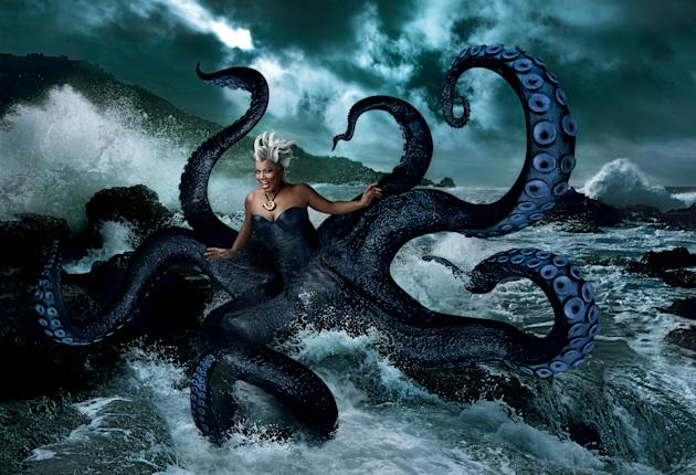 Disney Dreams: Quyeen Latifah as Ursula