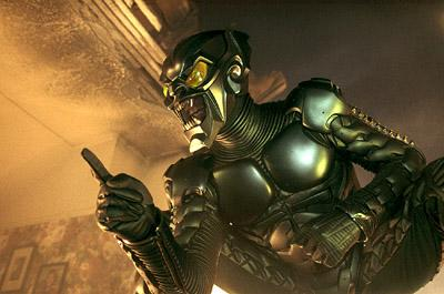 Willem Dafoe as The Green Goblin in Columbia Pictures' Spider-Man