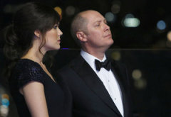 Megan Boone, James Spader | Photo Credits: Will Hart/NBC