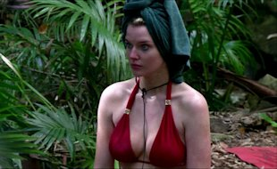 I'm A Celebrity 2012: Helen Flanagan Shows Off Her Breast Assets As She Admits: 'I Go Up A Cup Size When I Eat'